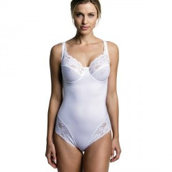 Miss Mary of Sweden Miss Mary Underwired Body 3687 - White * Kampagne *