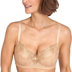 Miss Mary of Sweden Miss Mary Winter Dew Bra With Exclusive Embroidery - Beige * Kampagne *