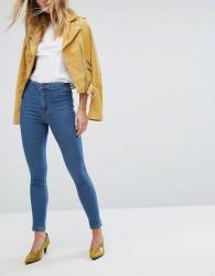 Miss Selfridge Mid Wash Skinny Jeans - Black