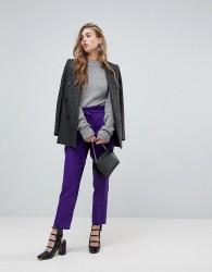 Miss Selfridge Paperbag Trouser - Purple