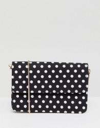Miss Selfridge Polka Dot Across Body Bag - Multi