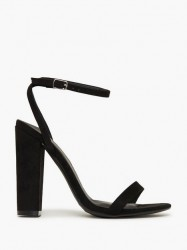 Missguided Block Heeled Sandal High Heel
