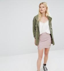 Missguided Petite Premium Bandage Mini Skirt - Purple