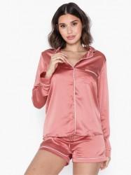 Missguided Piping Short PJ Set Pyjamasser & hyggetøj