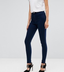 Missguided Tall Vice High Waisted Super Stretch Skinny Jean - Blue
