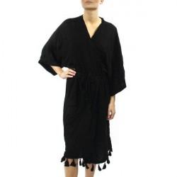 Missya Jasmine Kimono - Black * Kampagne *