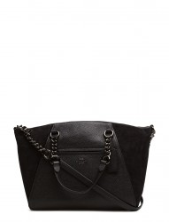Mixed Leather Chain Prairie Satchel Refresh