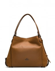 Mixed Leather Edie 31 Shoulder Bag