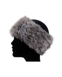 MJM Headband w rabbit (GRÅ, ONESIZE)