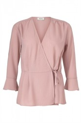 Modström - Bluse - Jeffrey Top - Frosty Rose