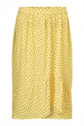 Modström - Nederdel - Tivoli Print Skirt - Pale Banana Dot