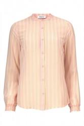Modström - Skjorte - Tyrell Print Shirt - Pencil Stripe