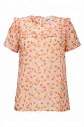 Modström - T-shirt - Galia Print Top - Rose