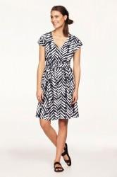 Mønstret kjole