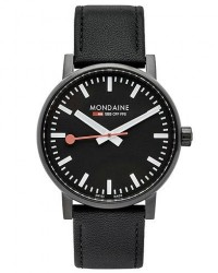 Mondaine Evo 2 PVD Sapphire Black 40mm men One size Sort