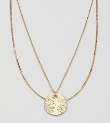 Monki necklace in gold - Gold