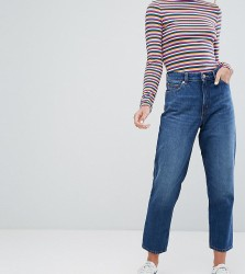 Monki Taiki High Waist Mom Jeans - Blue