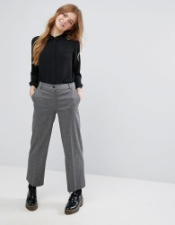 Monki Tapered Trousers - Grey