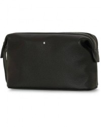 Montblanc Meisterstück Soft Grain Wash Bag Black men One size Sort