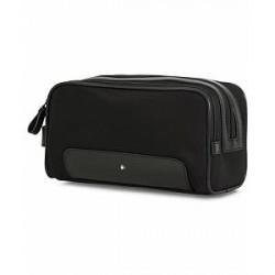 Montblanc Sartorial Jet Wash Bag Black