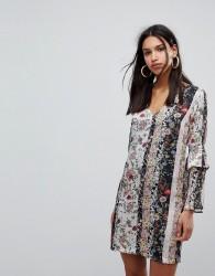 Morgan Mix n Match Floral Shift Dress - Multi