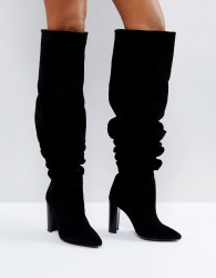 Morgan Slouch Boot - Black