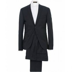 Morris Charles Wool Suit And Shirt Navy