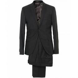 Morris Charles Wool Suit Black