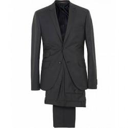 Morris Charles Wool Suit Dark Grey