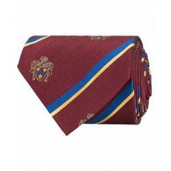 Morris Club Tie 8 cm Wine Red