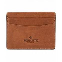 Morris Credit Card Holder Cognac