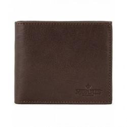 Morris Credit Card Wallet Dark Brown
