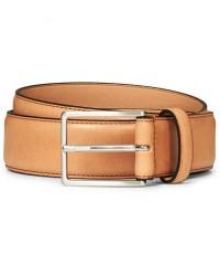 Morris Emile Leather Belt Brown men 85 Brun