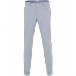 Morris Heritage Fred Dandy Stripe Suit Trousers Light Blue