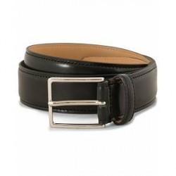 Morris Leather 3 cm Belt Black