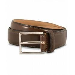 Morris Leather 3 cm Belt Brown