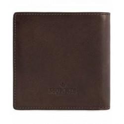 Morris Leather Wallet Dark Brown