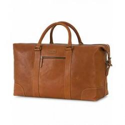 Morris Leather Weekendbag Cognac
