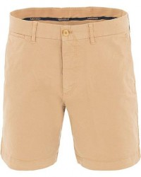 Morris Light Twill Chino Shorts Khaki men W30