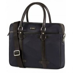 Morris Nylon Computer Bag Navy/Black