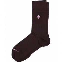 Morris Solid Sock Brown