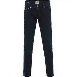 Morris Steve Satin Jeans Dark Blue