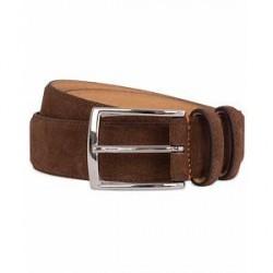 Morris Suede 3,5 cm Belt Brown