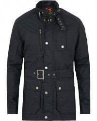 Morris Thruxton Waxed Jacket Old Blue