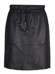 Mos Mosh - Ellie Leather Skirt - Black