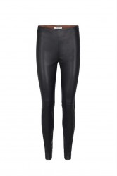 Mos Mosh - Lucille Stretch Leather Legging - Black