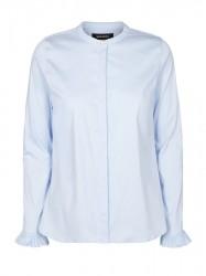 Mos Mosh - Mattie Sustainable Shirt - Light Blue