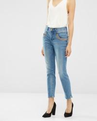 Mos Mosh Naomi Shine Split jeans