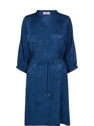 Mos Mosh - Renata Flower Dress - Dark Blue