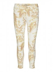Mos Mosh - Victoria Cannes Pant - Lemon Print